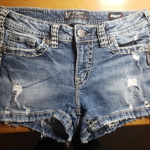 Silver Jean's, aiko shorts